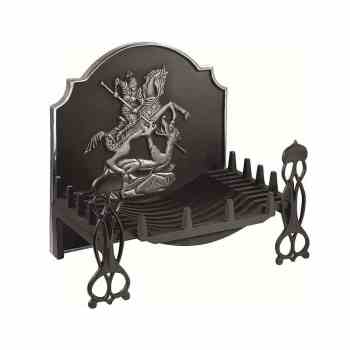The Gallery Swans Nest Traditional Cast Iron Fire Basket