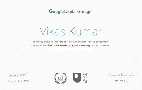 Google Digital Garage Module 17 Quiz Answers