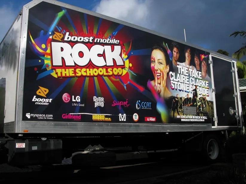 Rock The School Tour 2009