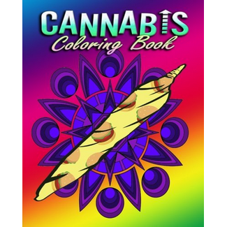 Cannabis Coloring Book For Adults