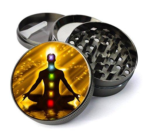 Chakra Meditation Weed Grinder