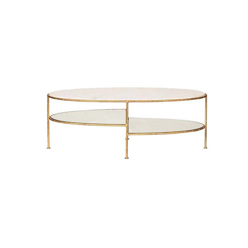 oval marble top coffee table with glass
