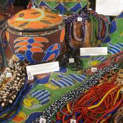 African Trade Bead display 007