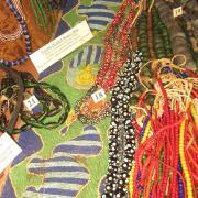 African Trade Bead display 014