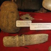 Indian Artifact Axe Display 011