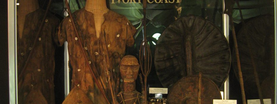 Tribal Artifacts Ivory Coast Weapons