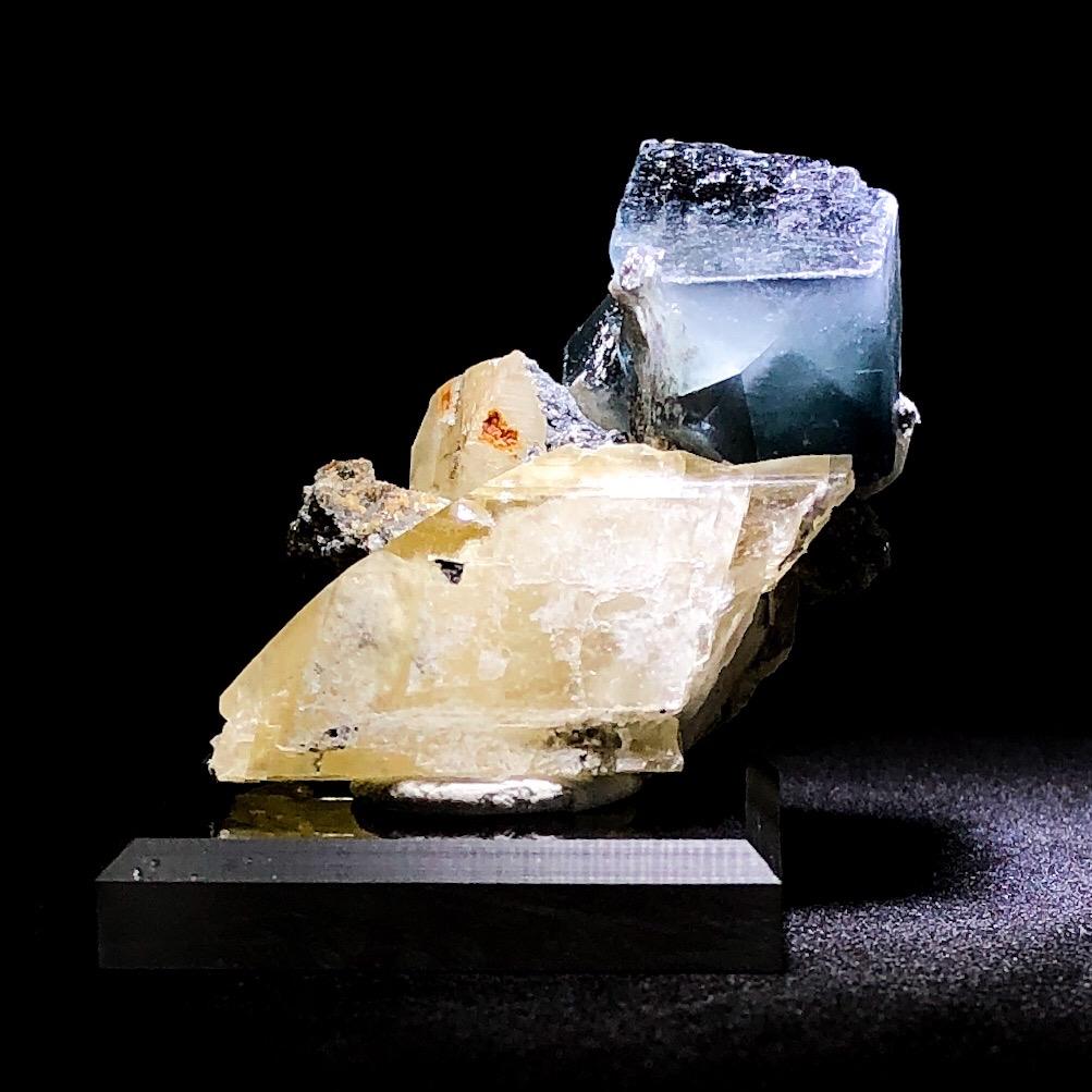 Blue Semi Translucent Fluorite