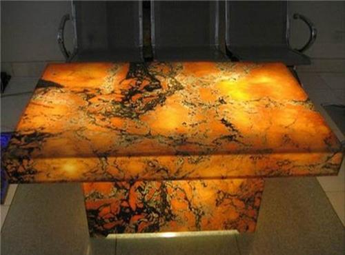 thin stone panels backlit onyx semi