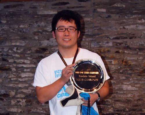 Keisuke Hashimoto 2017 Male Champion