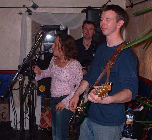 Brass Monkeys 2002 (in The Puffer during hall renovations)