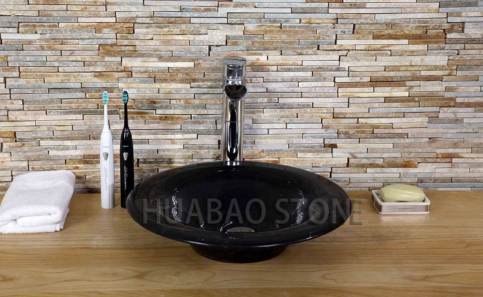 decorative cultured stone bathroom sink countertop flush mount free standing