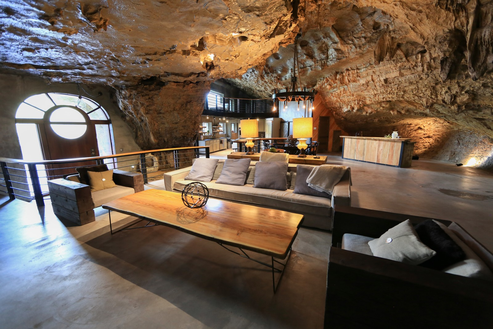 Hibernate Luxuriously in This 5,572-Square-Foot Cave Mansion