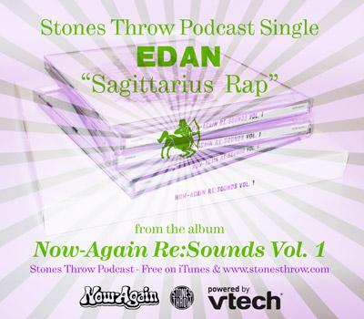 Stones Throw Podcast Flyer