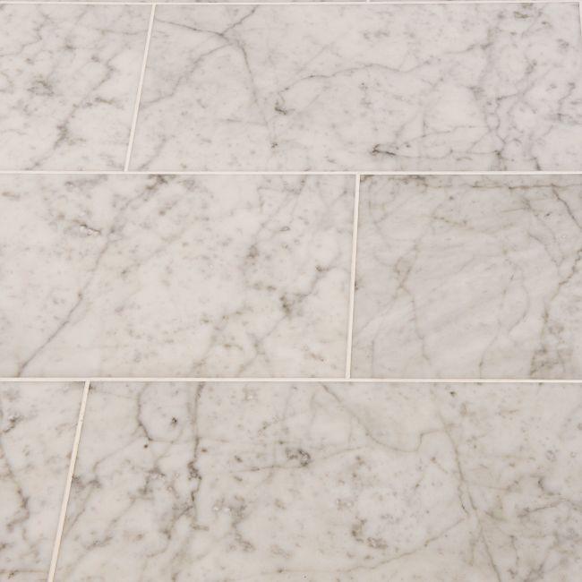 bianco carrara marble tiles polished