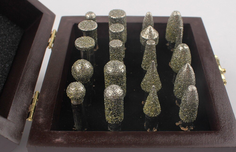 Raizi Electroplated Diamond Burs Granite Router Bit for Marble Metal Cutting