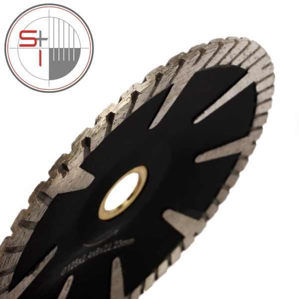Diamond Turbo Rim - Concave Curved - Saw Blade