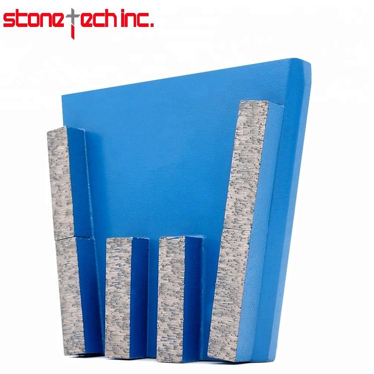 ST05 Long Life Diamond Grinding Block Stone Grinding Tools Diamond Frankfurt for Hard Granite Marble 6PCS