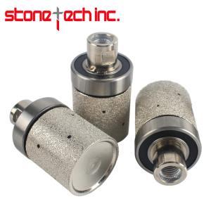 2 Inch Vacuum Brazed Diamond Grinding Drum Wheel Coarse Medium Granite Marble Stone Angle Grinder Sink Grinding Wheel