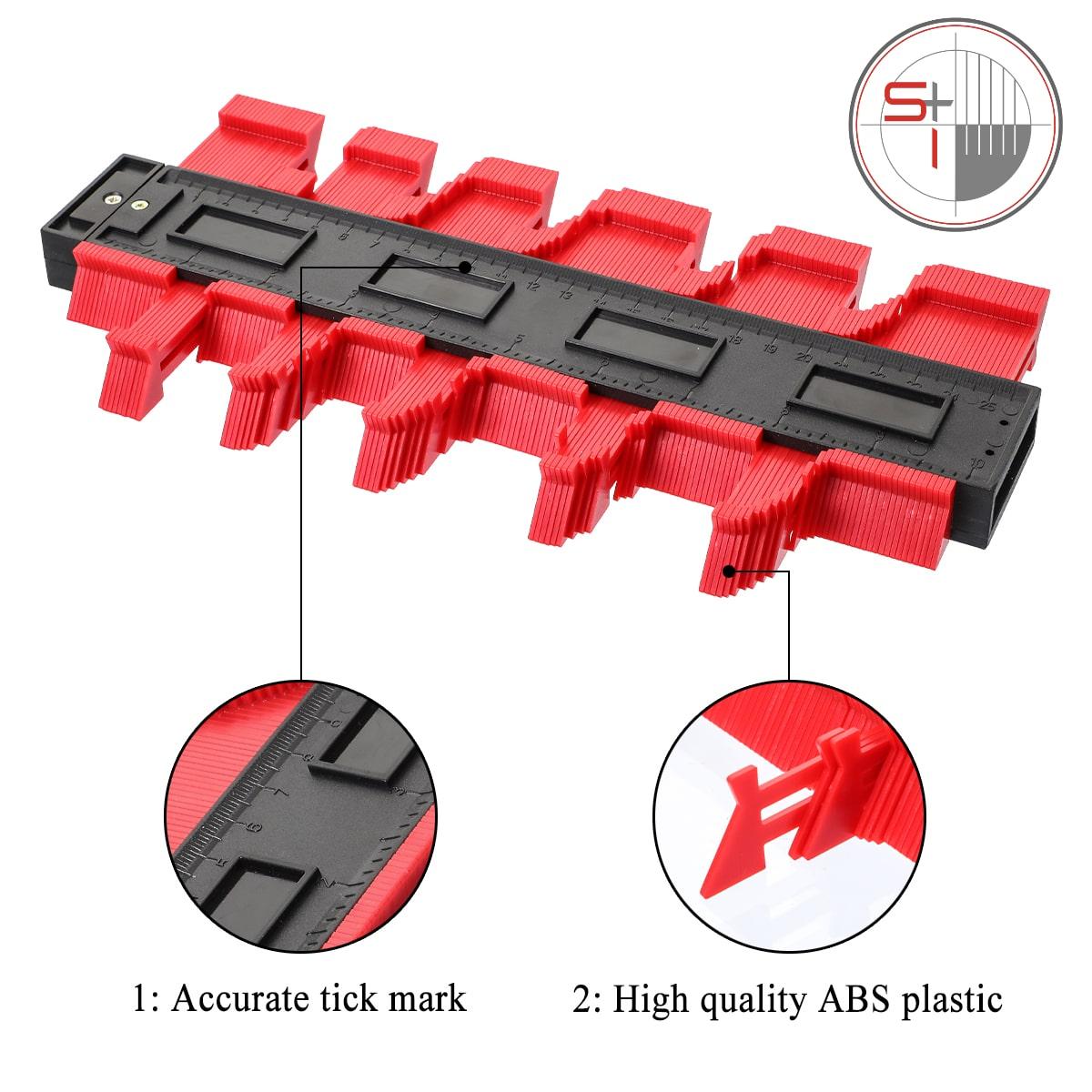 Plastic Profile Wood Marking tile Tool
