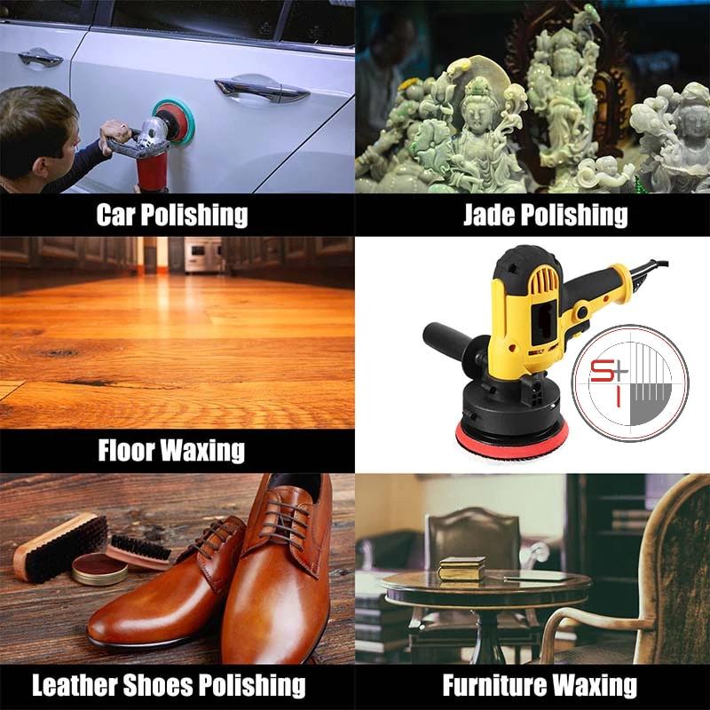 Electric polishing machine