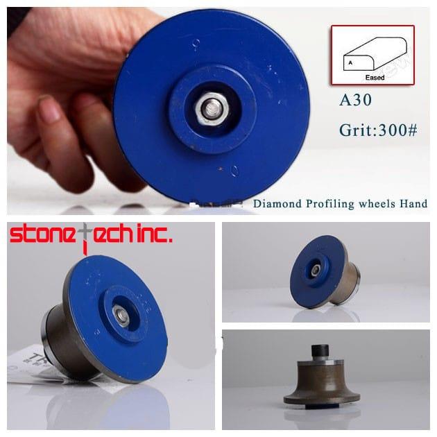 shape A diamond profiling wheel portable grinding machine