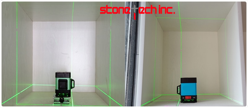 XEAST Hot 12 line laser level for tile laying Self-Leveling 360 Horizontal And Vertical Cross Green 3D laser level