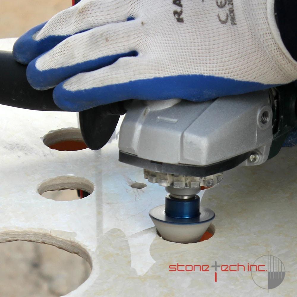 Vacuum Brazed Diamond Bits for Finishing Hole Countersink