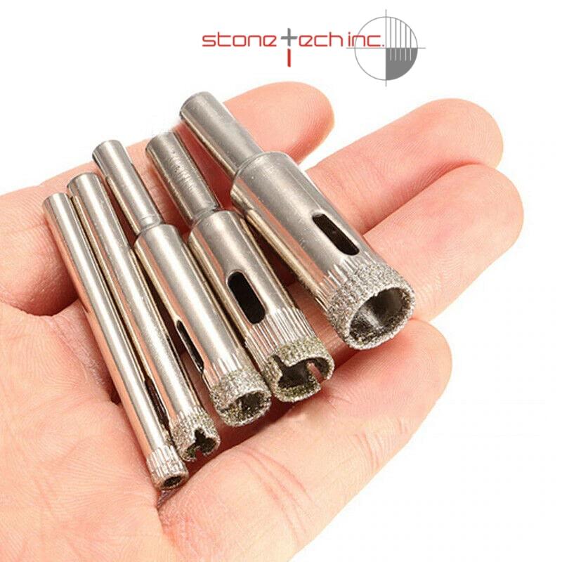 Diamond Glass Drill Bit Marble Ceramic Tile Hole Cutter Bit Set Steel Woodworking Metal Drilling Bit Hot Sale