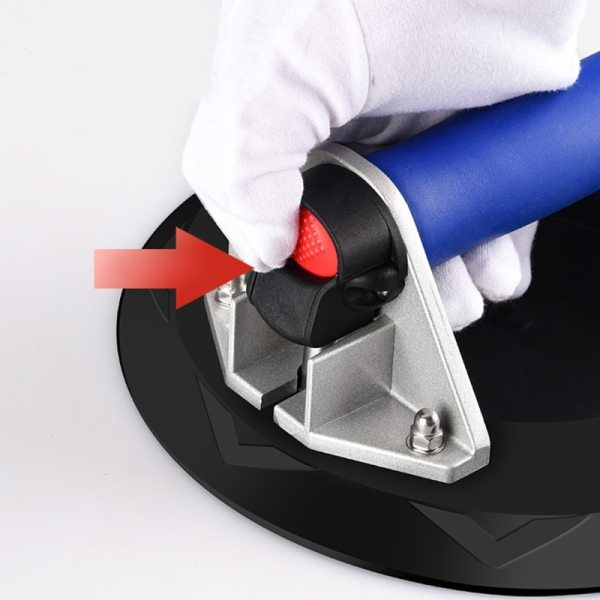 Vacuum Suction Cup with Heavy Duty Handle Vacuum Lifter for Granite & Glass Lifting.