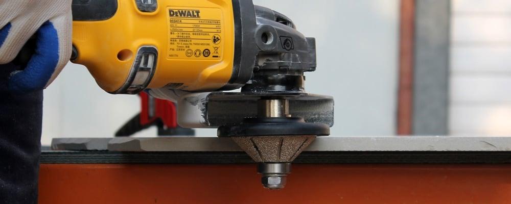 Demi bullnose Diamond Hand Profile Router Bits Vacuum Brazed Profiler Wheel B5-30 Granite Marble Stone Grinding Wheel