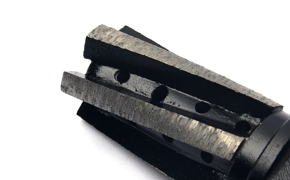 "1 Piece Diamond CNC Finger Bit 1/2"" Thread For Granite Marble Grinding 5 Segment Diamond Finger Bits"