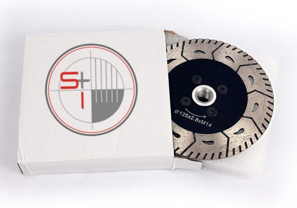 Turbo Diamond Cutting Disc M14 Circular Saw With Flange Cutting Blade