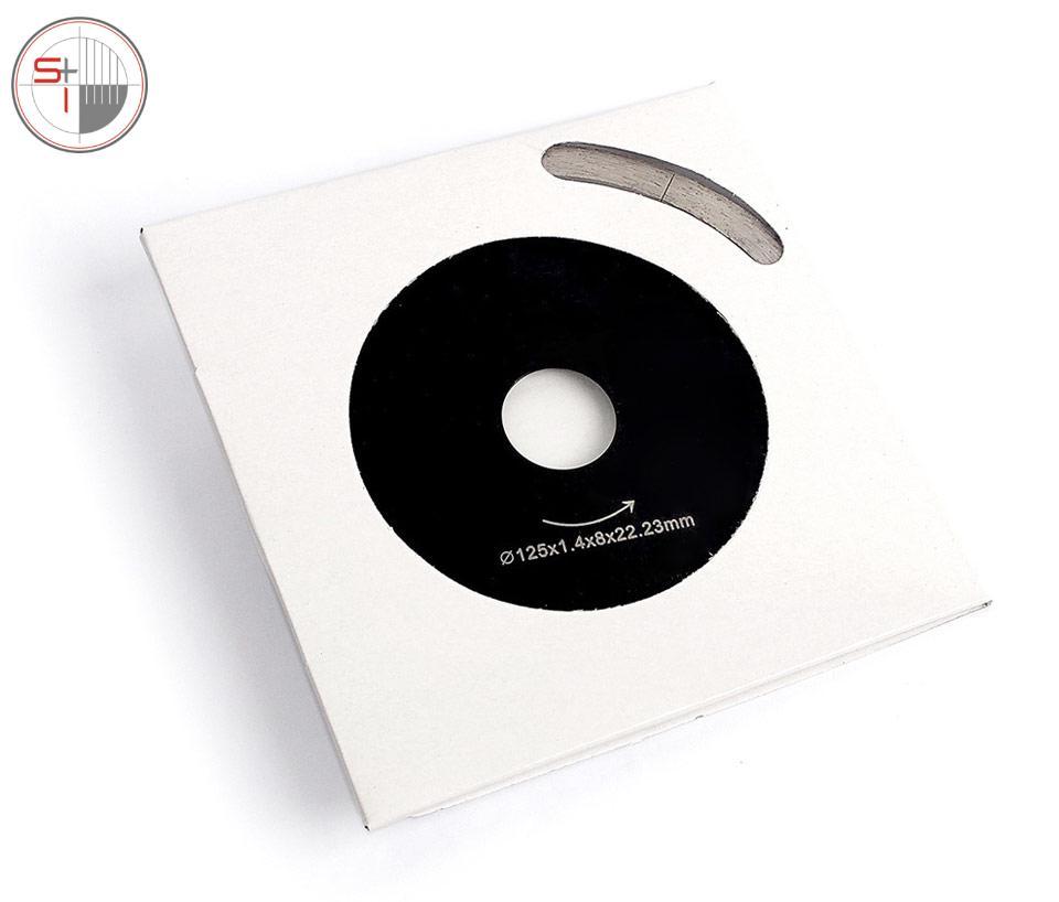 Ceramic Tile Cutting Disc Marble Saw Blade Professional Diamond Cutting Tool Hot Pressed Segments Fast Sharpen Cut - 5 Inch