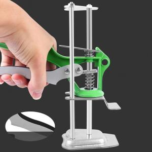 Tile Height Regulator Lightweight Strong Bearing Capacity High Elasticity Green Tile Height Lifting Jack for Home Decoration