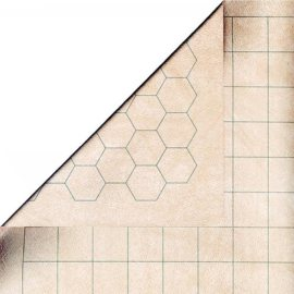 Double-Sided Battlemat with 1.5 Inch Squares/Hexes