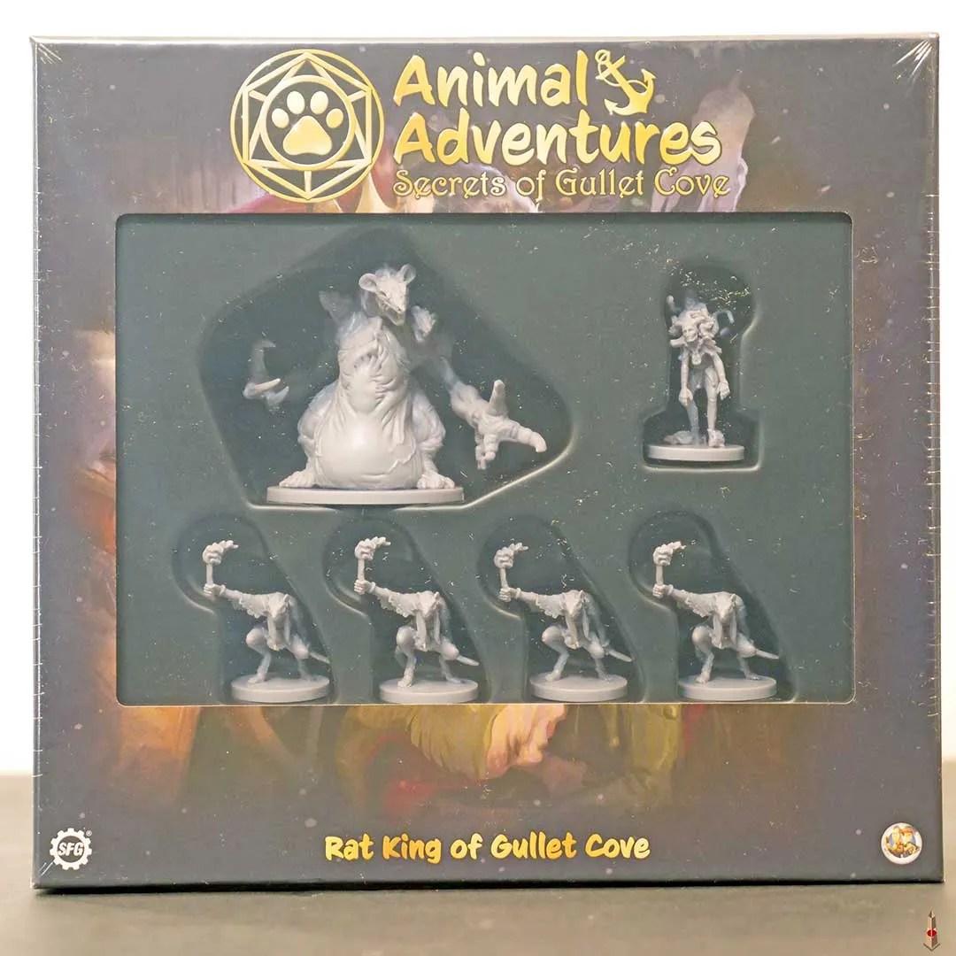 animal adventures rat king front