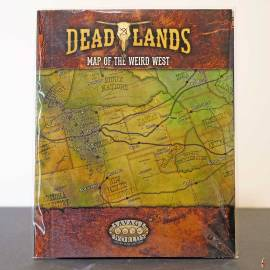 deadlands map of the weird west front