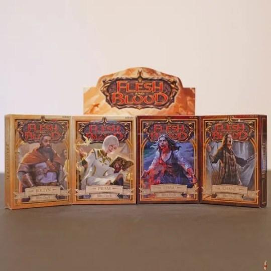 flesh and blood blitz decks
