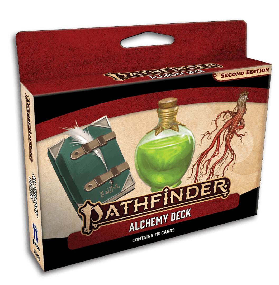 pathfinder 2e alchemy deck temp