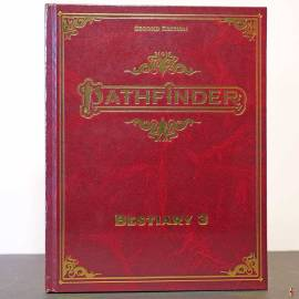 pathfinder 2e bestiary 3 de front