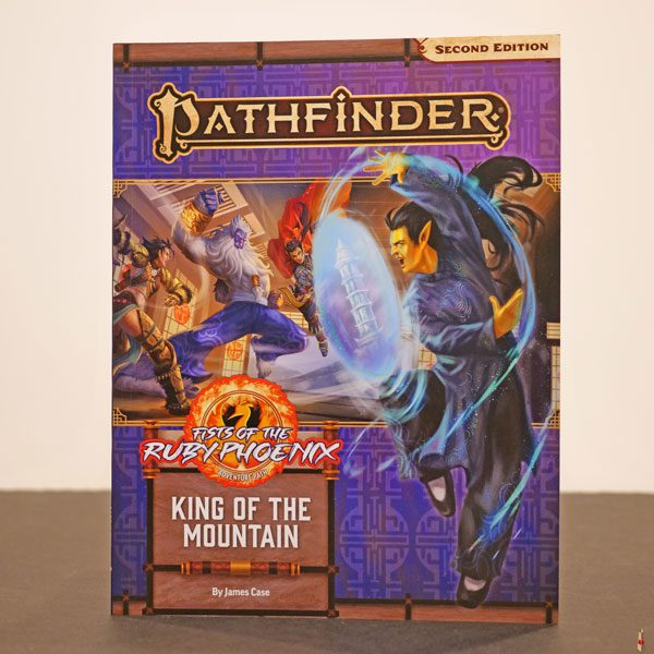 pathfinder 2e king of the mountain front