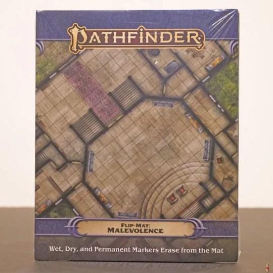 pathfinder flip mat melevolence front