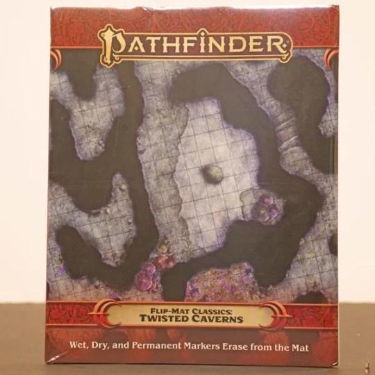 pathfinder flip mat twisted caverns front