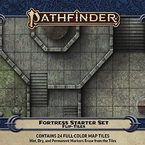 pathfinder fortress starter set flip tile temp