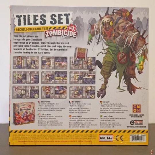 zombicide 2e tile set back