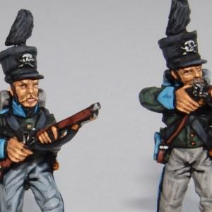 28 mm Napoleonic Brunswickers