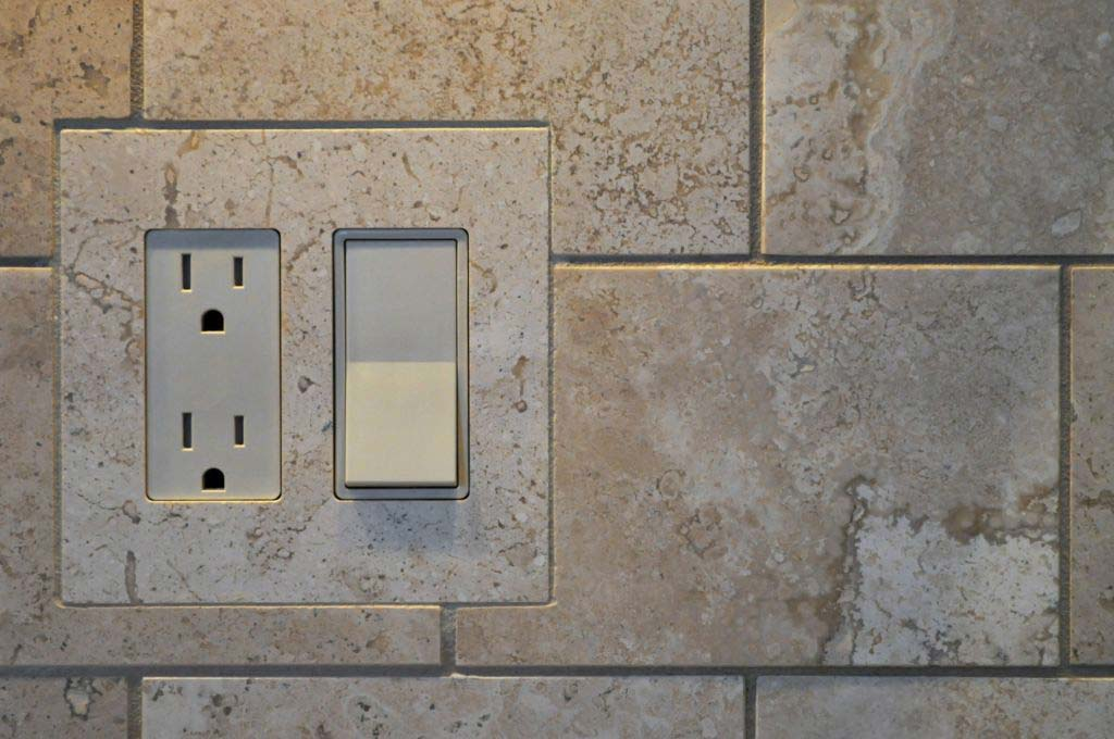 tiled in switch plates are available at