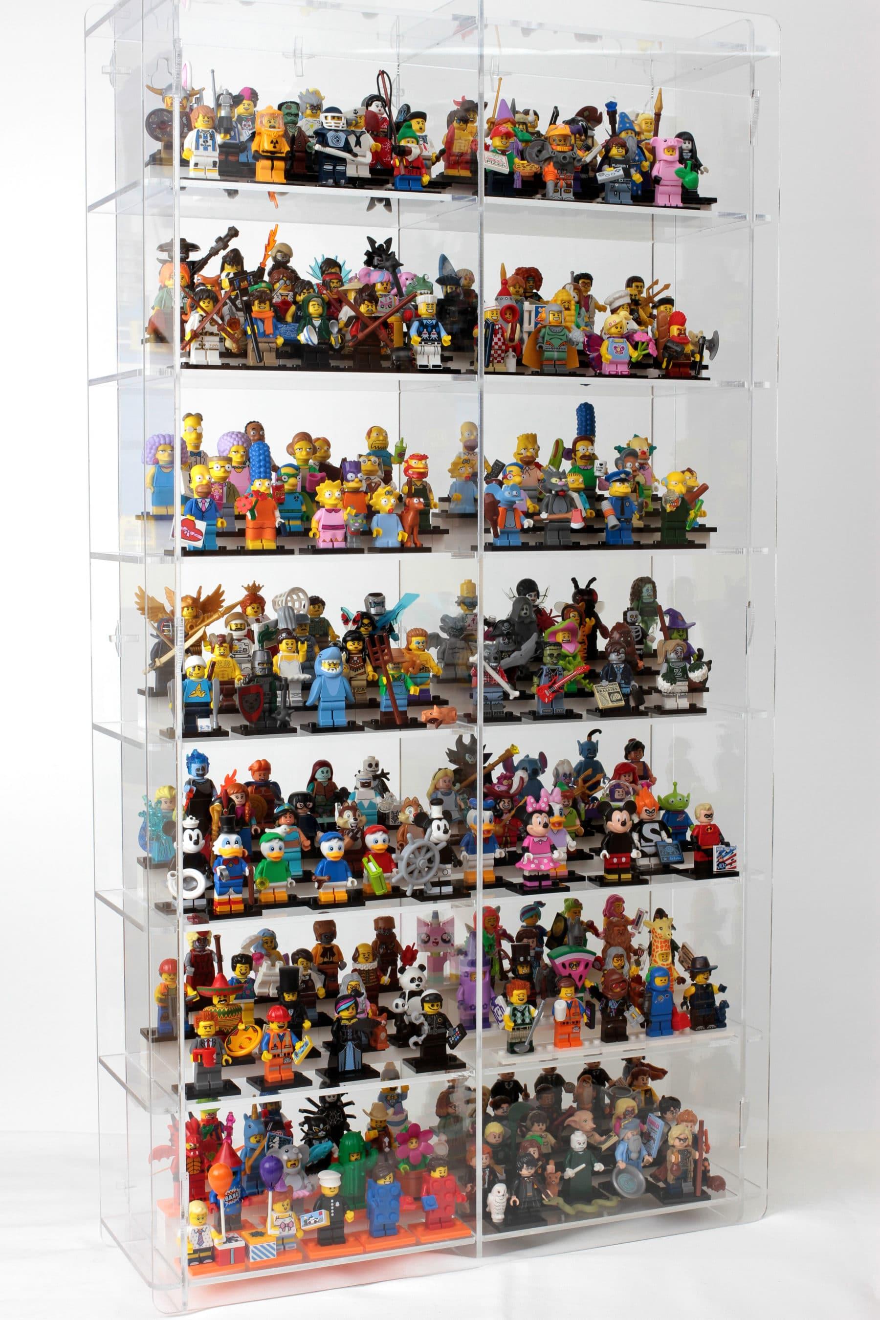 lego minifiguren ausstellen 5 wege um