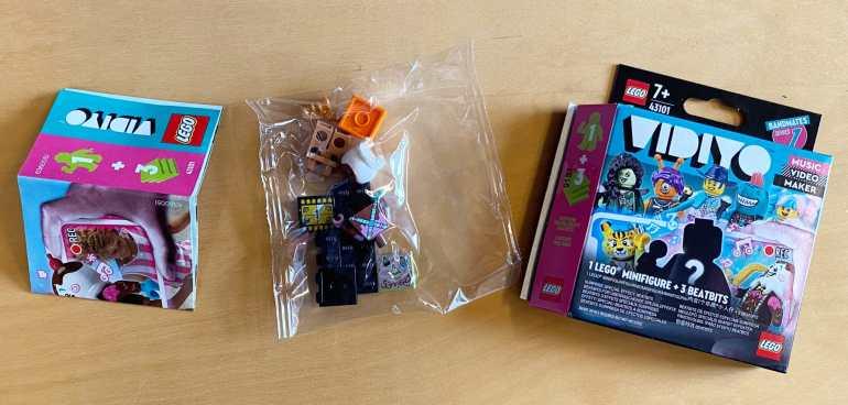 LEGO 43101 box packaging