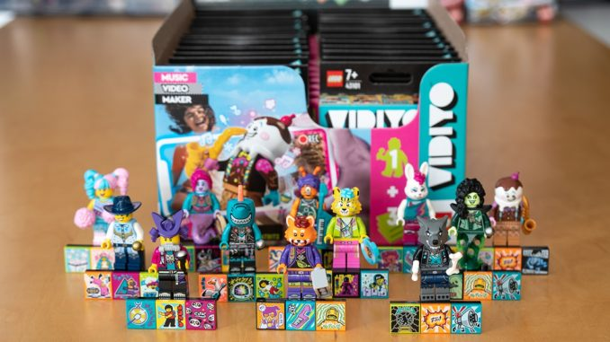 LEGO 43101 box distribution